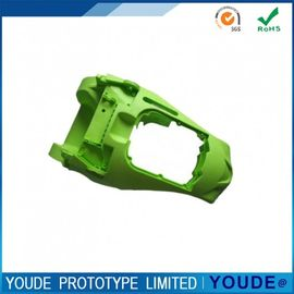Fast Rapid Prototype Plastic Services CNC Machining ABS Part in Green