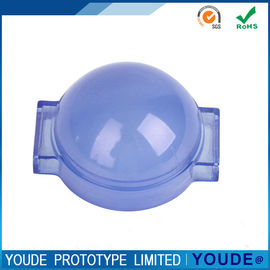 China Y2019041706 Rapid Prototyping Services CNC Acrylic Translucent Part in Violet supplier