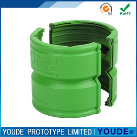 China Quick Turn Prototyping Service CNC Machining Plastic Part  Green Color supplier