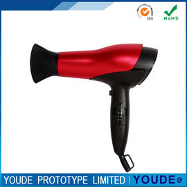 China Hairdryer Rapid Prototype Plastic ABS Shell Red and Black Color Accuracy +/-0.05 mm supplier