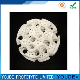 Rapid SLA 3D Printing Service Prototype White Color For Decoreation Product