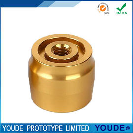 China Custom CNC Turning Service Rapid Prototyping Brass Part With Polishing supplier