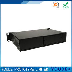 China Rapid Prototyping Custom Sheet Metal Fabrication Manufacturing Shell Equipment In Black supplier