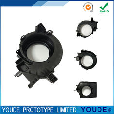 China Small Batch Vacuum Casting Plastic Parts Black Color High Accuracy +/-0.05mm supplier