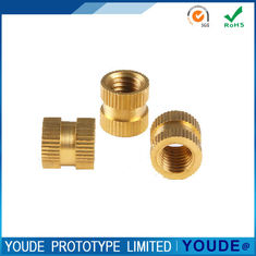 China Rapid Prototyping Production , Rapid Prototyping Tools Brass Nuts With Polishing supplier